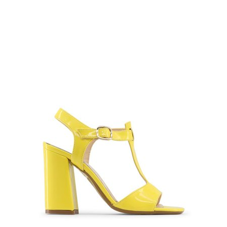 made in italia sandals yellow
