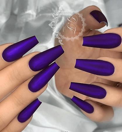 dark purple nails png - Google Search