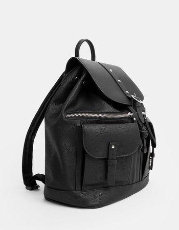 Mochila estilo casual con bolsillos - Bolsos y mochilas | Stradivarius Colombia