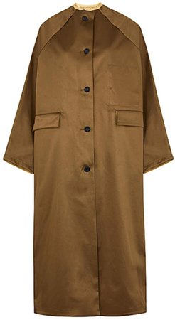 Kassl Cotton-Blend Trench Coat