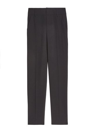 STACEY SLIM TROUSER in BLACK | Alice and Olivia