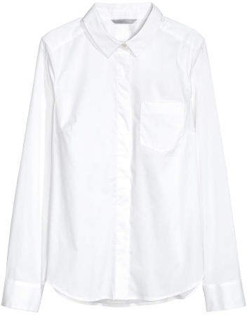 Fitted Shirt - White
