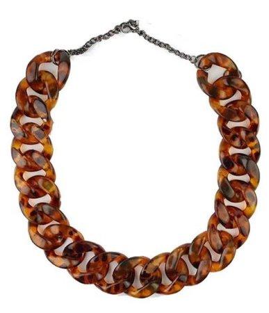 Carey chunky chain necklace
