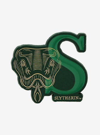 Harry Potter Slytherin Snake Face Enamel Pin