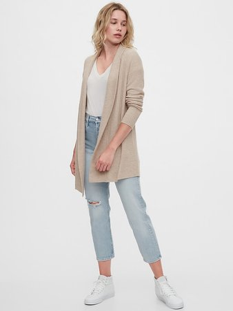 Open-Front Cardigan | Gap