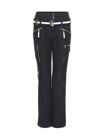 ski pants; black
