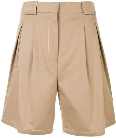 High-Rise Tailored Shorts
