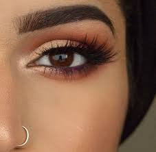 casual red eyeshadow - Google Search