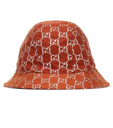 Gucci - GG lamé wool-blend bucket hat | Mytheresa