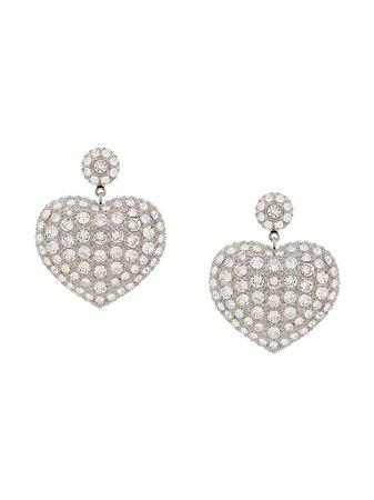 Balenciaga Susi Heart Earrings - Farfetch