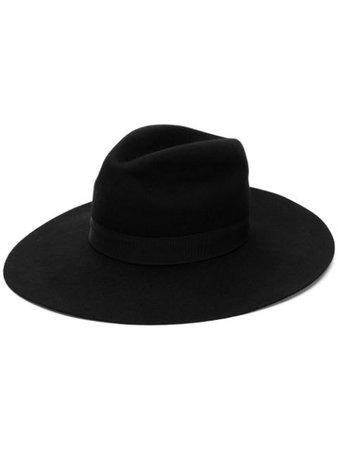 Dsquared2 Wide-Brim Logo Hat HAW000630701427 Black | Farfetch
