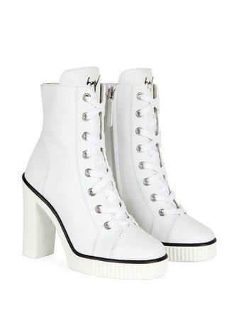 Giuseppe Zanotti lace-up Ankle Boots - Farfetch