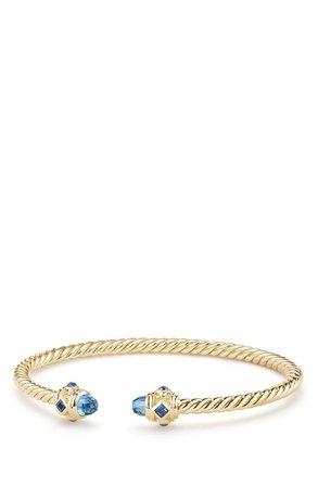 David Yurman Renaissance Bracelet in 18K Gold, 3.5mm | Nordstrom