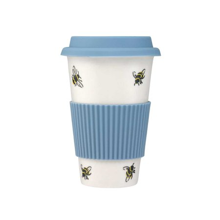 Bumble Bee Ceramic Boxed Travel Mug | Bee-utiful | CathKidston