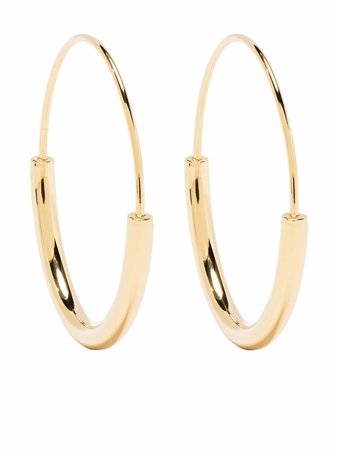Maria Black Serendipity 30 Hoop Earrings - Farfetch