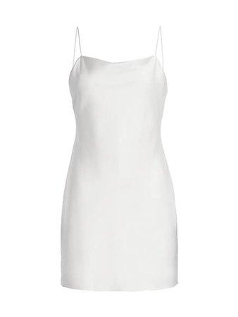 Alice + Olivia Harmony Mini Slip Dress | SaksFifthAvenue