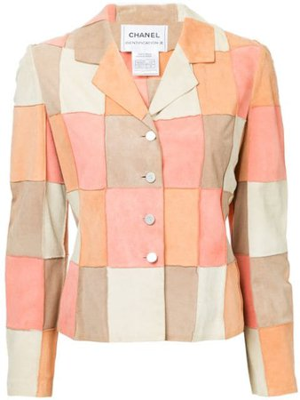 Chanel Pre-Owned Patchwork Effect Jacket & Camisole - Farfetch