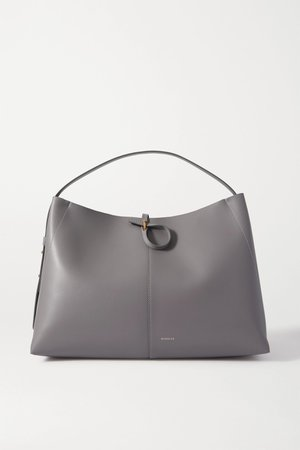 Gray Ava large leather tote | Wandler | NET-A-PORTER