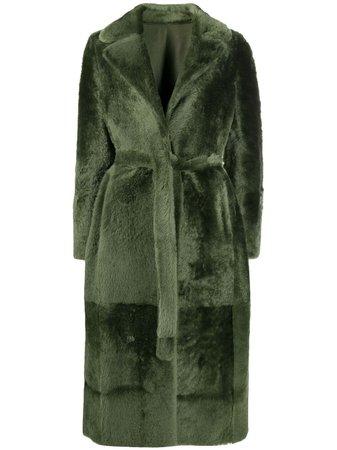 Yves Salomon, tie-waist Coat