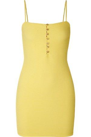 ViX   Sunkisses ribbed stretch-jersey mini dress   NET-A-PORTER.COM
