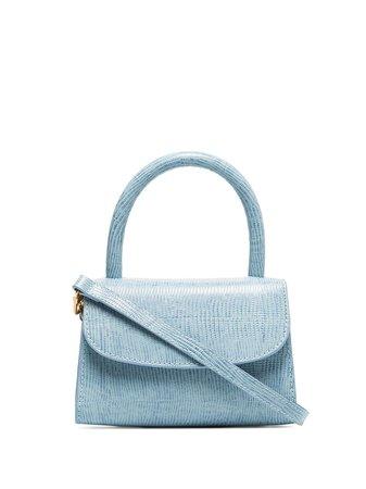 By Far Mini Lizard-Effect Tote Bag Ss20 | Farfetch.com