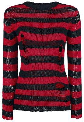 Freddy's Destroyed Stripe Sweater | Forplay Knit jumper | EMP