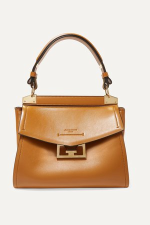 Camel Mystic small leather tote | Givenchy | NET-A-PORTER