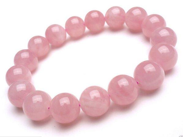 beaded bracelet pink - Google Search