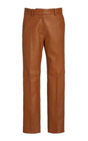 Coleman Stretch Leather Pants By Joseph | Moda Operandi