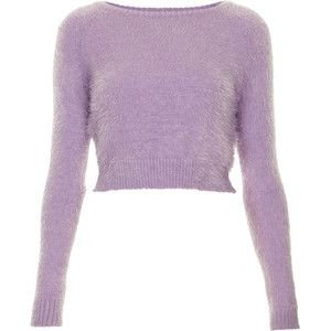 **Fluffy Soft Cropped Jumper by Oh My Love