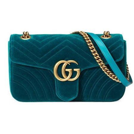 GG Marmont velvet shoulder bag | Gucci Women's Shoulder Bags