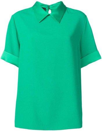 classic collar blouse
