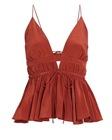 Joslin Liana Silk Camisole | INTERMIX®