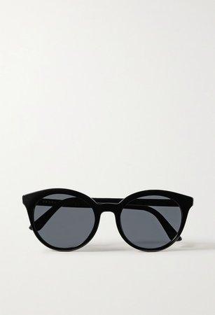 Prada | Round-frame acetate sunglasses | NET-A-PORTER.COM