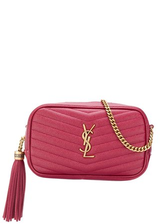 Saint Laurent Lou Quilted Shoulder Bag - Farfetch