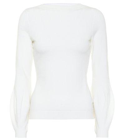 Alaïa, Wool-blend sweater Top