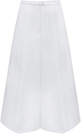 BEVZA Cotton Midi Skirt