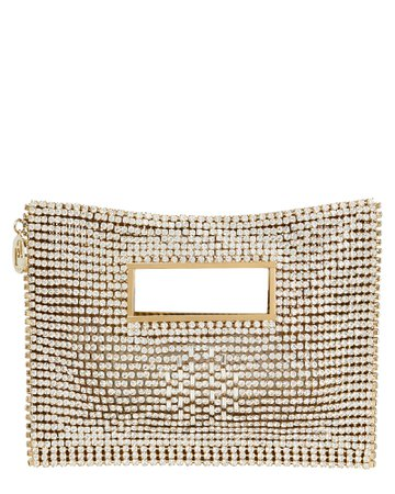 Iside Crystal-Embellished Clutch
