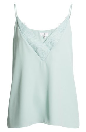 Socialite Lace Trim Camisole Top | Nordstrom