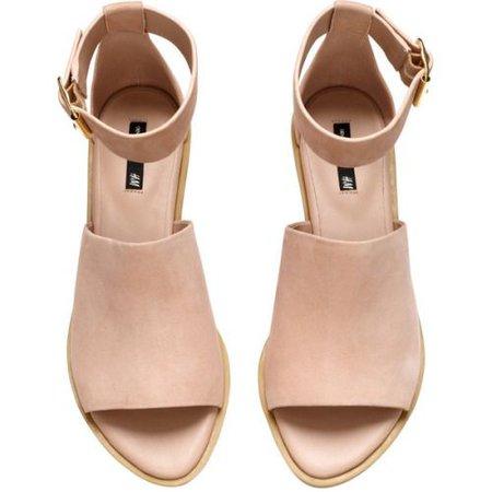 Tan Strap Sandals