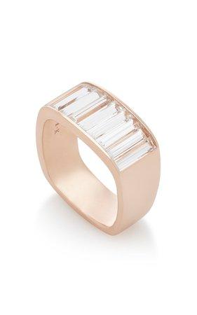 White Topaz 14K Rose Gold Ring by Jane Taylor   Moda Operandi