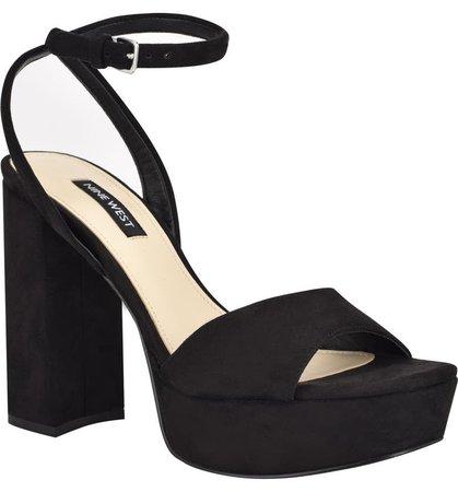 Nine West Zenna Ankle Strap Sandal | Nordstrom