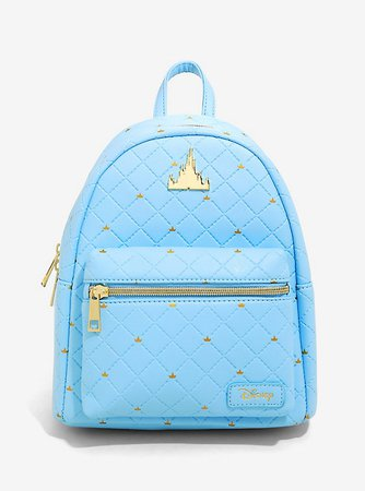 Loungefly Disney Castle Blue Mini Backpack