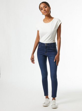 DP Petite Indigo Frankie Denim Jeans