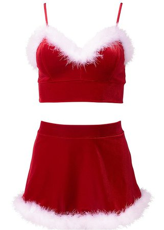 Santa Baby Sexy Skirt