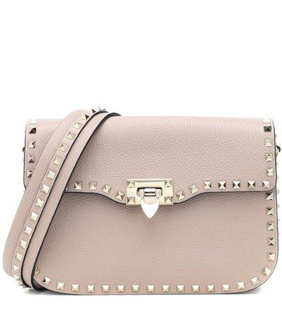 Valentino Garavani Rockstud Medium Leather Shoulder Bag   Valentino - mytheresa