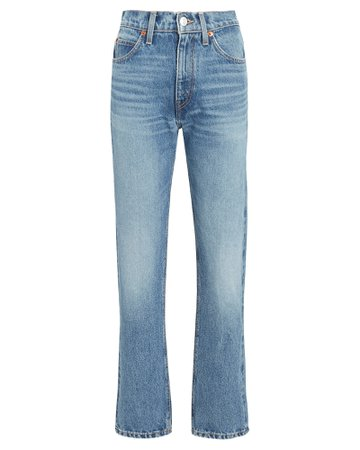 RE/DONE 70s Straight-Leg Jeans | INTERMIX®