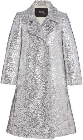 Marc Jacobs Sequined Wool Coat