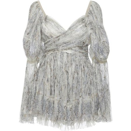 Etro V Neck Lace Top