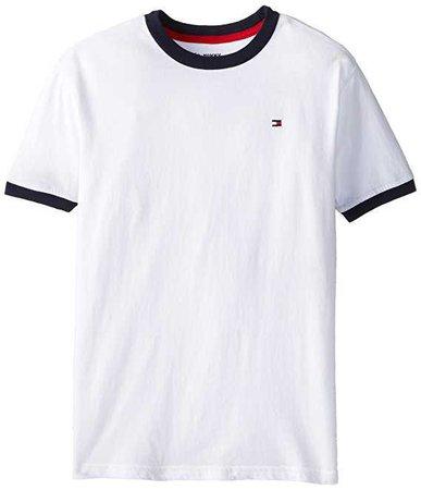 Amazon.com: Tommy Hilfiger Boys' Core Crew-Neck Ken T-Shirt: Fashion T Shirts: Clothing